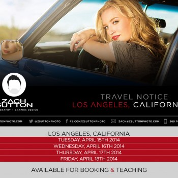 Las Angeles Travel Notice Photography