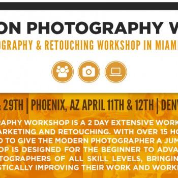 Photography Workshops Announcement
